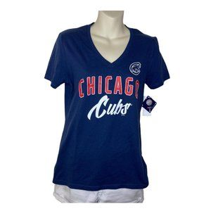 NWT, Women's Chicago Cubs T Shirt, Small